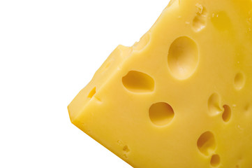 Chunk of tasty cheese