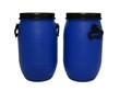 Zwei blaue Fässer