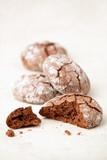 Chocolate crinkles cookies poster