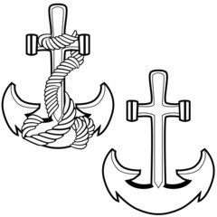 Roped Anchor Set