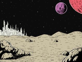 Alien Background