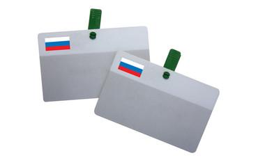 Badge - Délégation russe