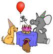 Geburtstag, Party, Feier, Kindergeburtstag, Fete