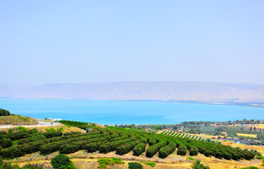 Sea of Galilee (Lake Kinneret). Israel