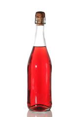 bottiglia vino rosato
