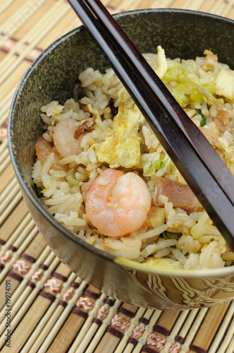 Китайский рис приготовления