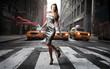 Fototapeten,frau,stadt,catwalk,reisen