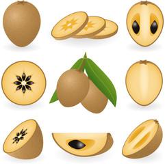 Chiku fruit