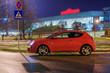 Car at evening