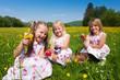 Children on Easter egg hunt