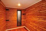 Hardwood Sauna Room poster