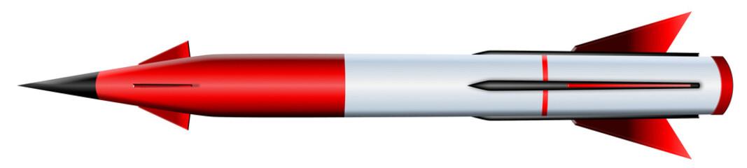 ミサイル 赤色