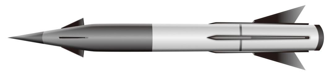 ミサイル モノクロ