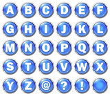 Alphabet Buttons (Uppercase)