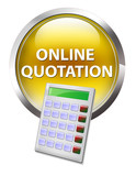 online quotation calculator policy get your quote button poster