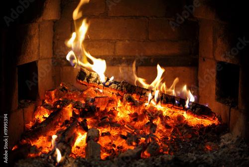 In de dag Vuur / Vlam fireplace