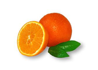 Apfelsinen frisch