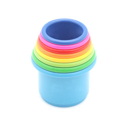 Multicolored toy.