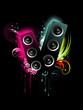 vector speaker art