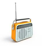 Fototapety Retro radio
