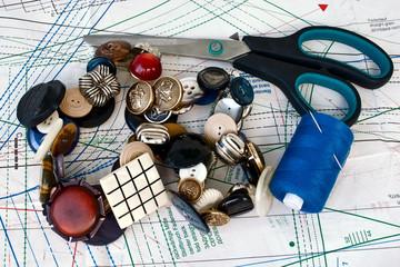sewing, needlework