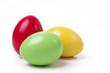 Leinwanddruck Bild - drei Ostereier
