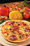 pizza with cheese