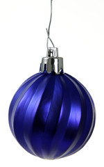 Hanging Blue Christmas Ornament
