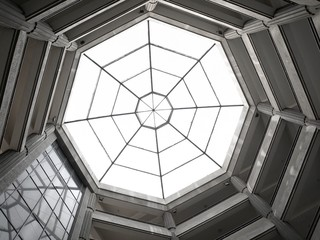 Octagon Skylight Dome