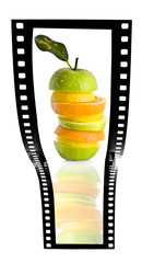 fruit salad film strip