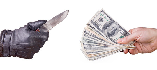 robbery money