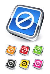 icône interdiction