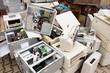 Leinwanddruck Bild - e-waste