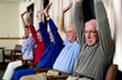 Seniors exercising - 20035357