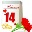 Valentinstag mit Hochzeit