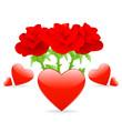 Blumen von Herzen
