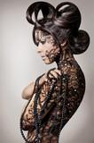 Fototapety Fashion model.