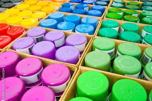Farben, Lacke, Sprühdosen, Sortiment