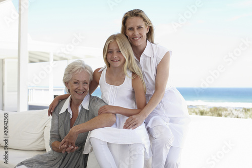Three women generations