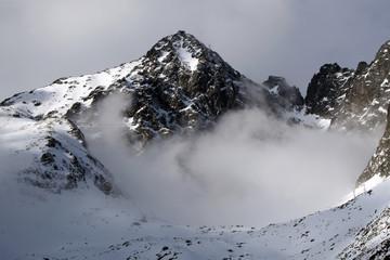 Mountain  - High tatry (Skalnate pleso, Slovakia)