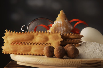 Dolci di carnevale - Cucina italiana