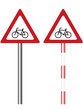 illustrated traffic or road warning signs