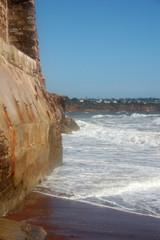 sea wall, Paignton