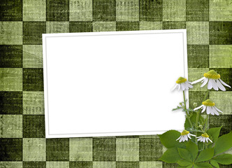 abstract background with bunch of flower for announcement or adv