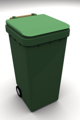 cubo de reciclar