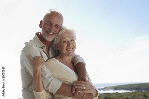 Beautiful mature couple