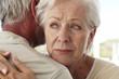 Mature woman crying