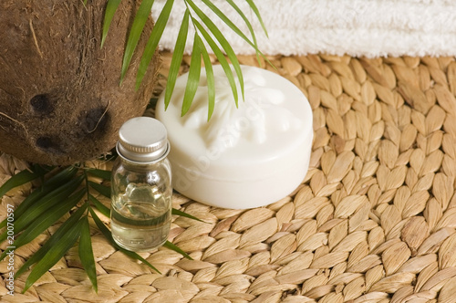 poster of Coconut oil for alternative therapy