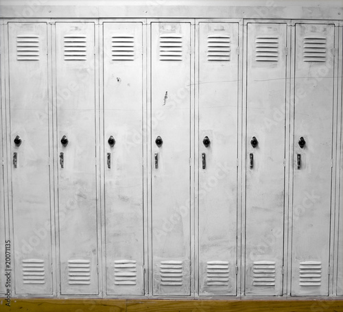 White Lockers