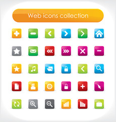 Web icons collection for your business artwork. Vector.